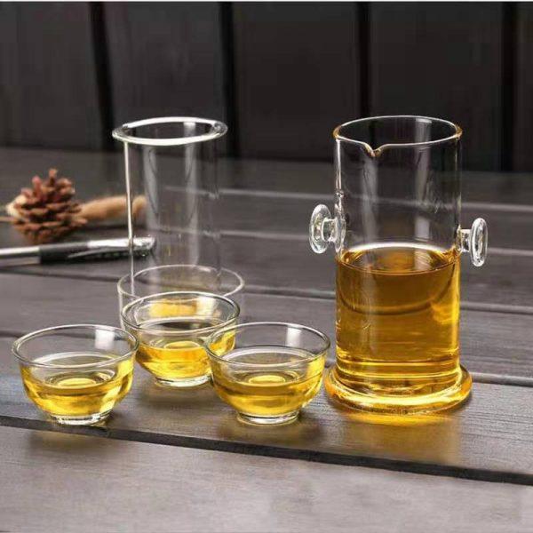 колба стеклянная для заваривания китайского чая